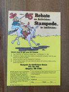 Happy Trails $5 rebate voucher for Stampede