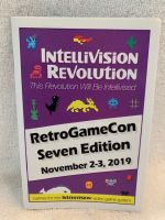 Intellivision Revolution 2019 RetroGameCon Seven Edition Game Catalogue