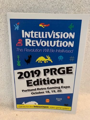 Intellivision Revolution 2019 PRGE Edition Game catalogue
