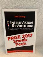 Intellivision Revolution 2017 PRGE Edition Game catalogue