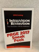 Intellivision Revolution 2017 PRGE Edition Game catalogue