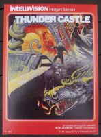 Thunder Castle - NEW Reproduction Empty Box