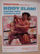 Body Slam - Super Pro Wrestling - NEW Reproduction Empty Box