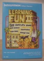 Learning Fun 2 - NEW Reproduction Empty Box