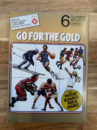 Go For The Gold - Empty Box