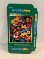 Donkey Kong Junior - Unfolded Box