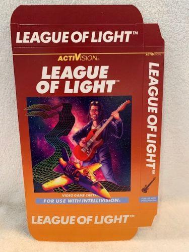 League of Light - Unfolded Box