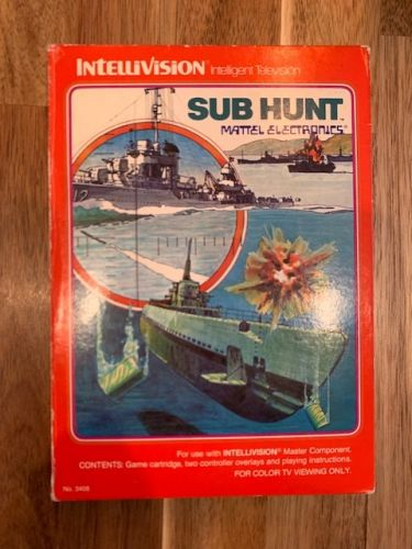 Sub Hunt - German Manual