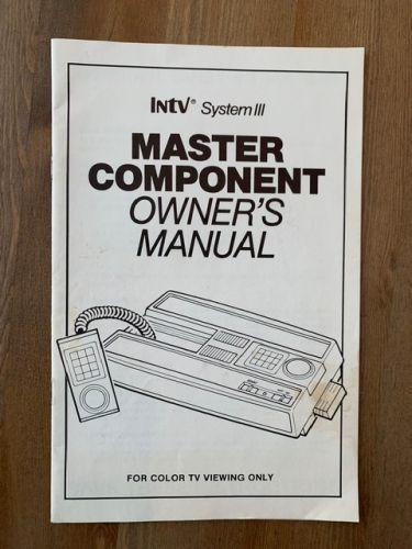 INTV III Console Manual